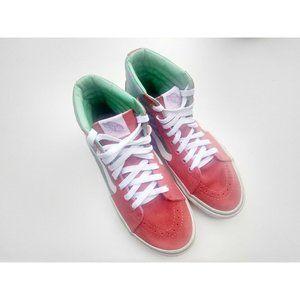 VANS Skate Shoes High Top Sneakers Men's Size 6  M